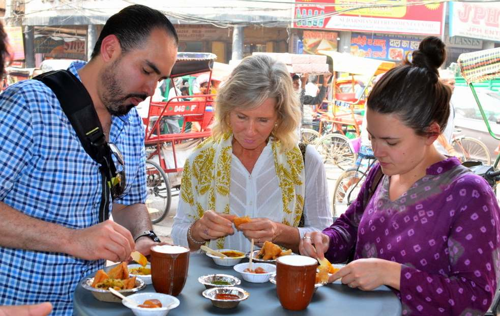 Photo and Food walks in India